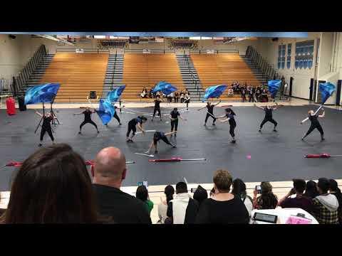 Bolsa Grande High School WInter Guard 2018 Championships
