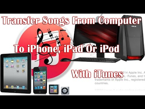 Transfer Songs From Computer To iPhone with iTunes 12