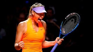 2017 Porsche Tennis Grand Prix First Round | Maria Sharapova vs Roberta Vinci | WTA Highlights