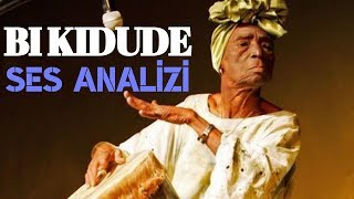 Being On The Stage At The Age Of 103 ! Bi Kidude Voice Analysis