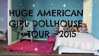 American Girl Doll House Tour~2015