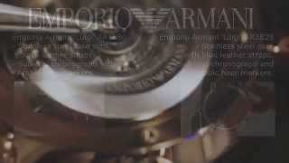 new emporio armani watches for winter 2014