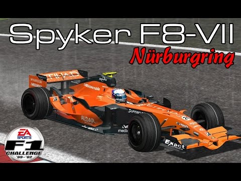 [F1C] Spyker F1 Team-Ferrari F8-VII @ Nürburgring with Markus Winkelhock (PRT 2007)