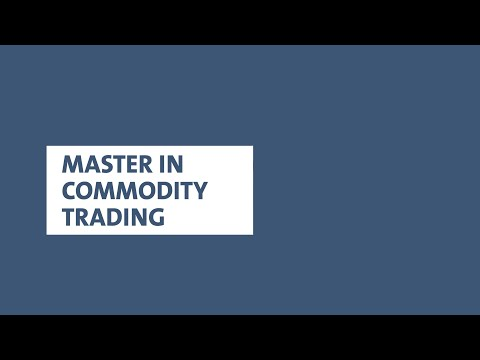 Master in Commodity Trading