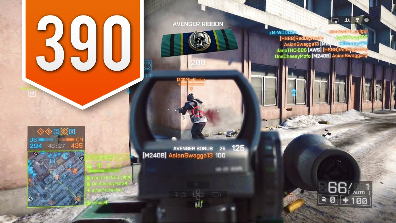 BATTLEFIELD 4 (PS4) - Road to Max Rank - Live Multiplayer Gameplay #390 -  THE SHOW MUST GO ON!