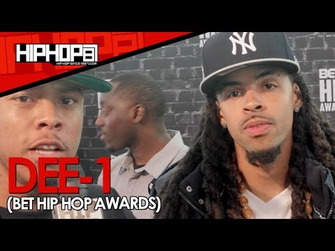 "Dee-1 Talks The 2014 BET Cypher, Ferguson, His EP ""Catch Me If I Fall"" & More"