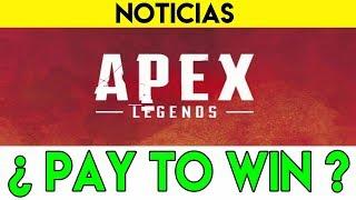 ¿PAY TO WIN?   APEX LEGENDS   Respawn defiende la monetización del juego