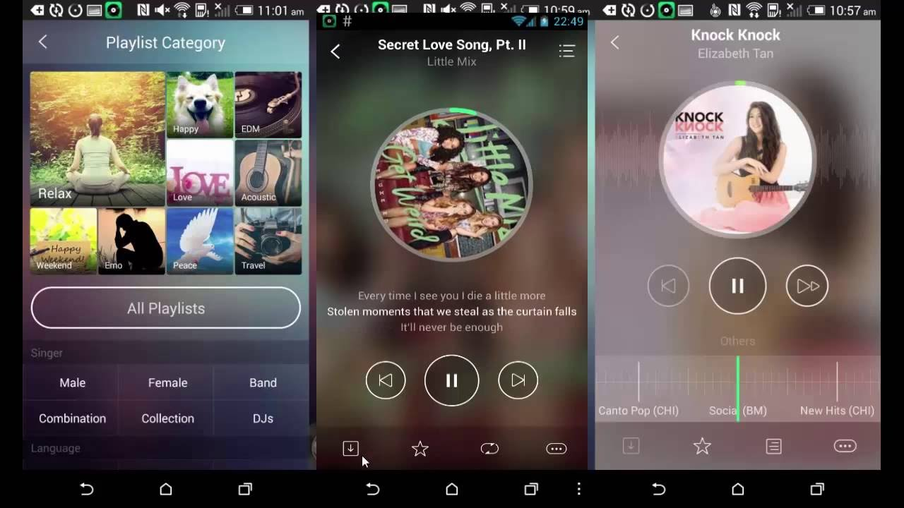 JOOX - 5 Aplikasi Android Untuk Mendengar Musik Yang Mengiringi Hari Hari Anda