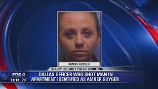 Police officially identify off duty officer as Amber Guyger, who shot neighbor Botham Jean