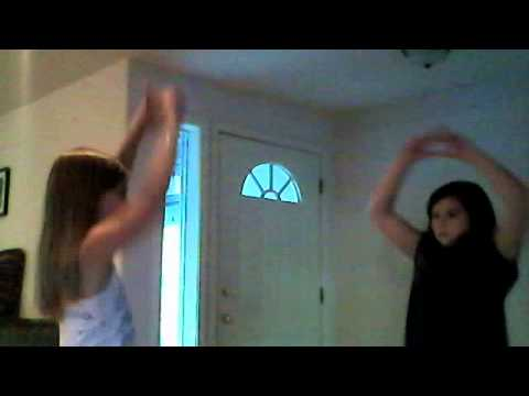 "Lilly Cox and Ellie Halpin/Singing ""Shine Bright like a  Diamond""/ Dancing. PERFECTION!"