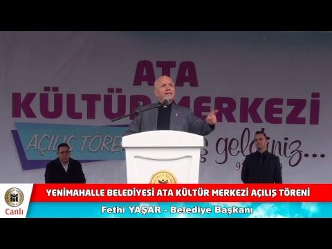 Ata Kültür Merkezi Açılış Törenimiz