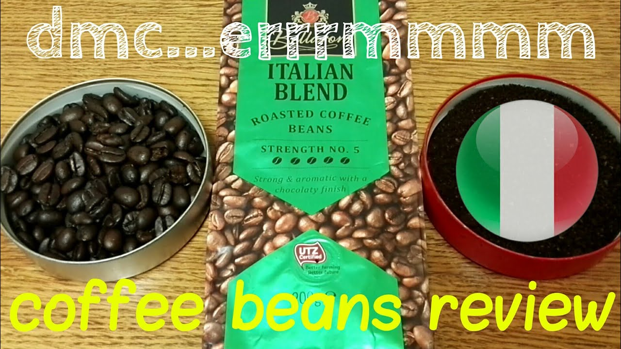 Lidl Bellarom Italian Blend Roasted Coffee Beans Review
