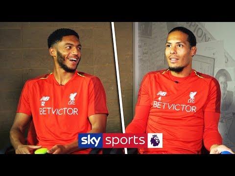 Virgil van Dijk vs Joe Gomez   'Who Am I?' Liverpool Teammates Quiz