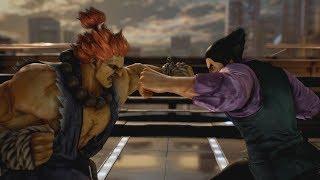 Tekken 7 Story Mode - All Akuma VS Kazuya Battles