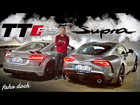 AUDI TT RS vs TOYOTA GR SUPRA   DAS DIREKTE DUELL! Review und Fahrbericht   Fahr doch