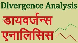 Divergence Analysis in Hindi. Technical Analysis in Hindi