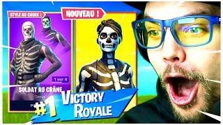 RETOUR des SKIN HALLOWEEN sur FORTNITE Battle Royale !!