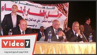 """رئيس البرلمان: """"مصر قوية برئيسها المؤمن.. وشبابها تحدى الطغيان"""""""