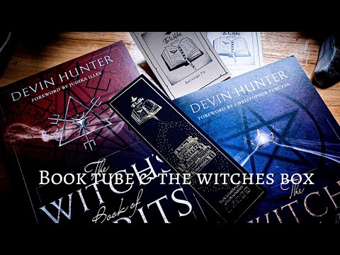 BOOK TUBE & THE WITCHES BOX