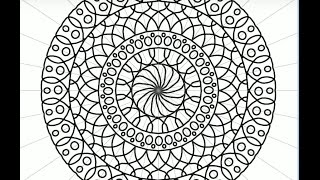 Design your own Mandala coloring pages: ColorTime