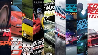 Need for speed-Evolution of NFS | 1994-2019