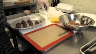 How To Make A Fried Chocolate Ball : Meats & Sweet Treats
