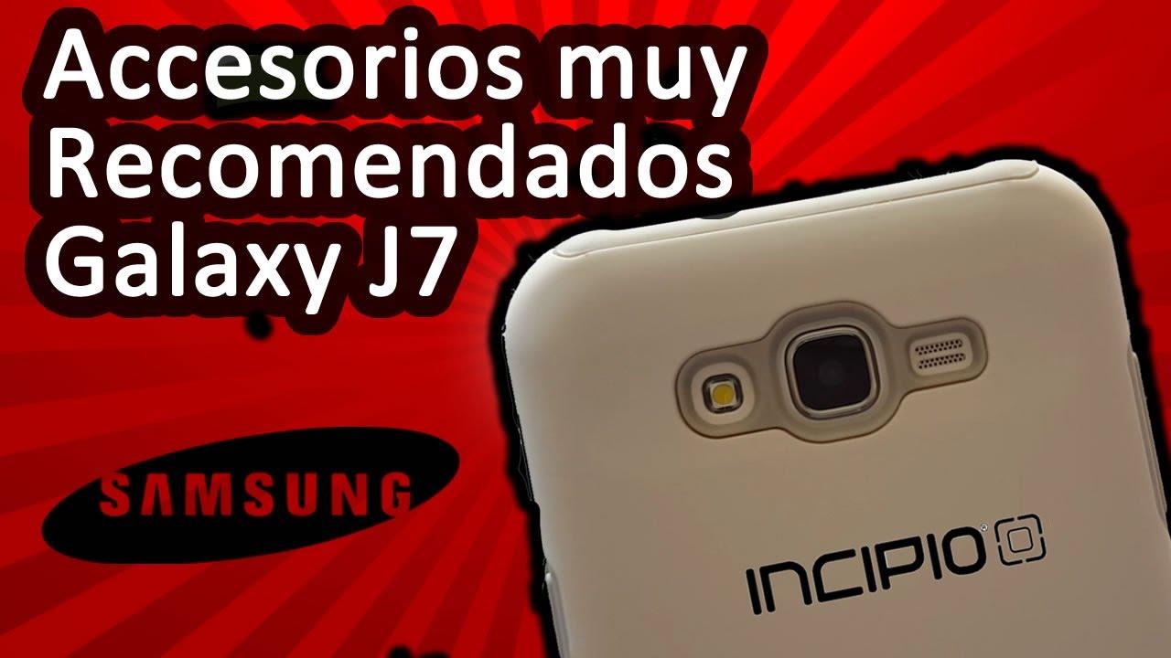 8dc5f8d448d Accesorios Muy Recomendados Celular Samsung Galaxy J7 o Pantalla Plana -  YouTube