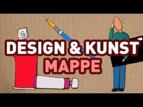 Mappenbewerbung Design Kunst Kunstmappe Youtube