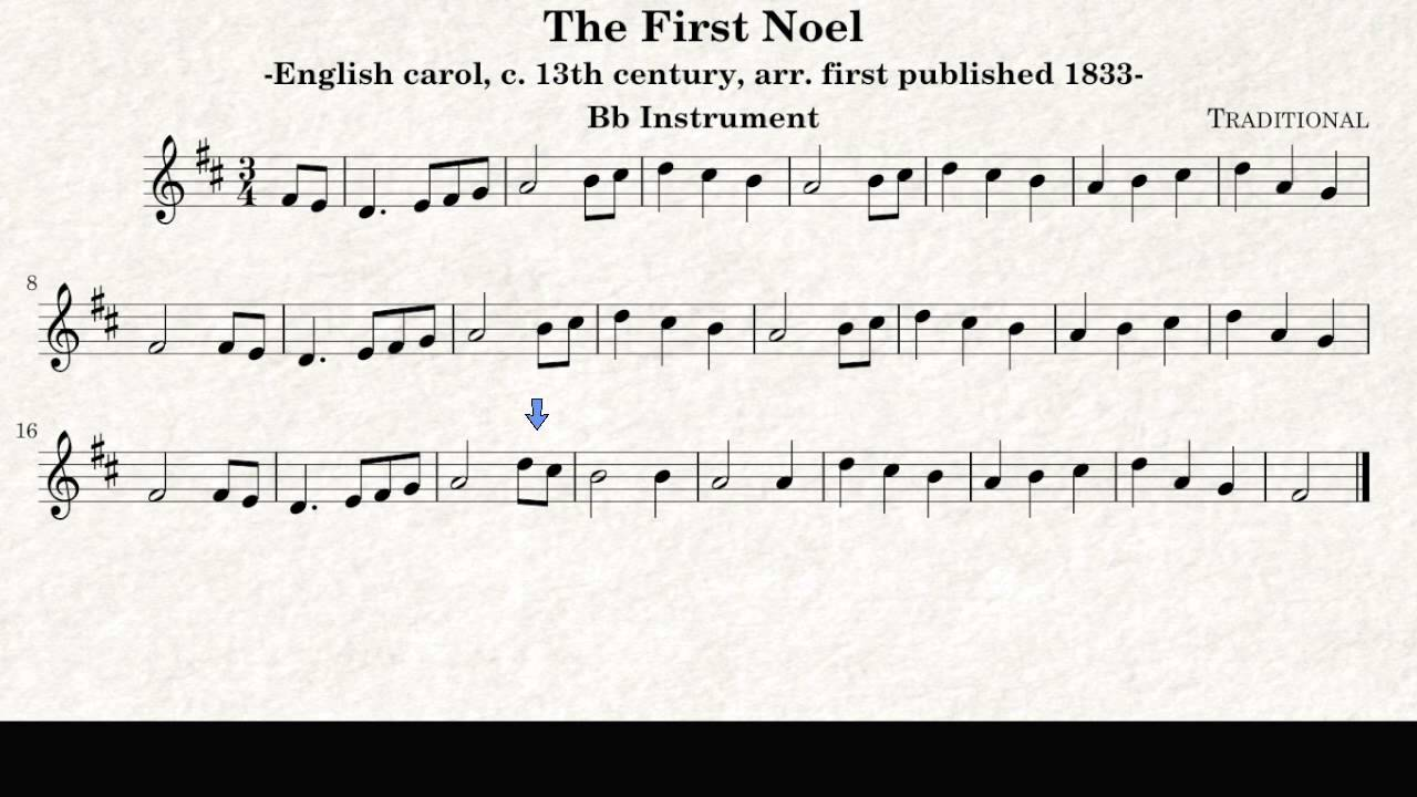 The First Noel, Christmas Song - Trumpet and Tenor Saxophone Play ...