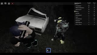 A hidden area! And a broken car! (the rake roblox part 4)
