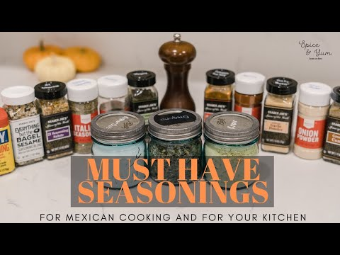 Must Have Seasonings (Spices) For Cooking | Kitchen Essentials