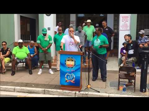 Reverend Nicholas Tweed at Labour Day, Sept 4 2017