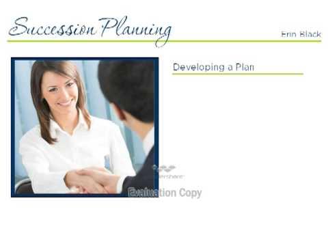 Succession Planning - Erin Black