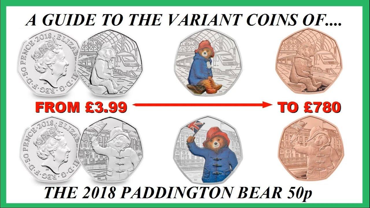 paddington bear 50p # 26