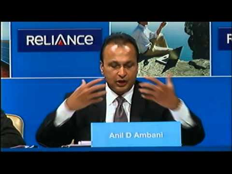 Chairman Mr. Anil Ambani's speech at the Reliance Infrastructure Annual General Meeting 2015.