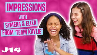 Team Kaylie Netflix Stars Eliza Pryor and Symera Jackson Do Impressions