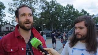 Bastille, Halmosi, Buzsáky - Strand Fesztivál, exkluzív interjú