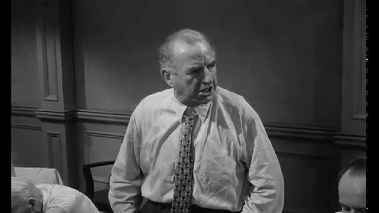 prejudice in 12 angry men 'twelve angry men is less about guilt or innocence than about reasonable doubt ' discuss set in 1950's new york with a backdrop of post mccarthyism hysteria, reginald rose's twelve angry men explores the deliberations of a jury in a homicide trial.