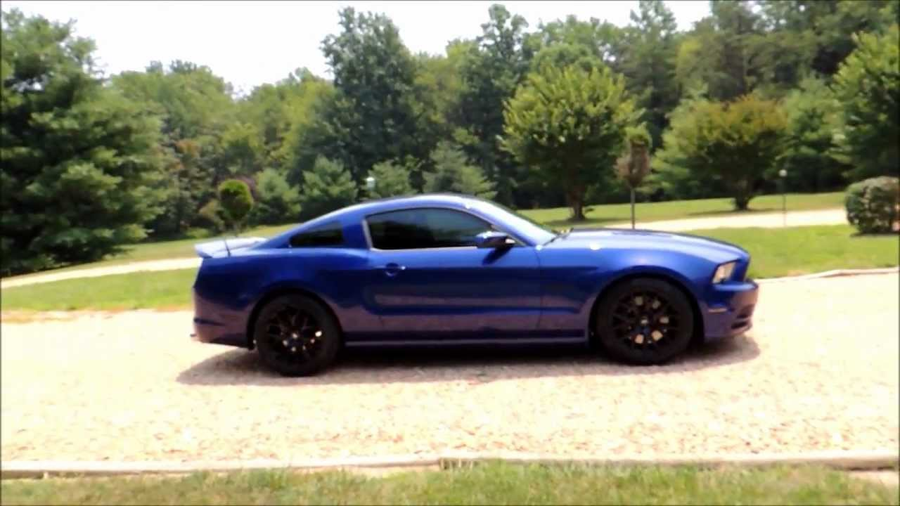 2013 Ford Mustang GT 50 SVE Drift Wheel Walkaround 19x95 Black