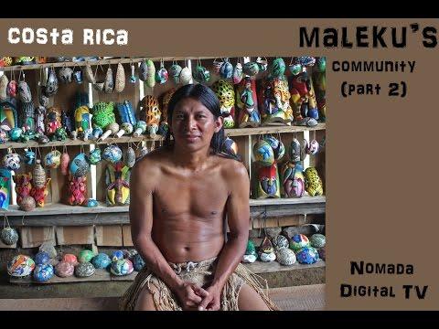 Maleku's community (part
