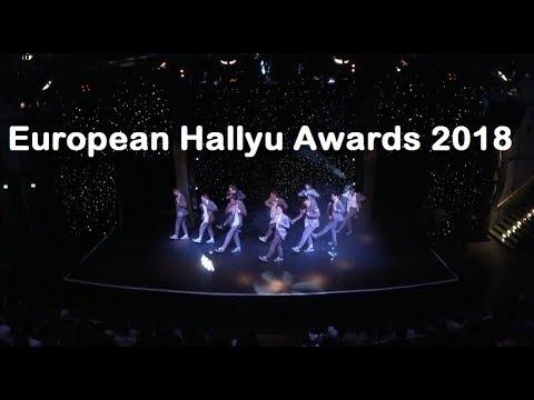 UKK VLOG - European Hallyu Awards 2018 & MANSAE Stage Performance!