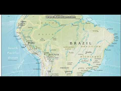 SOUTH AMERICA CONTINENT FOR ALL COMPETETIVE EXAMS BY AYUSH SRIVASTAVA