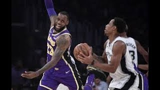 Los Angeles Lakers vs San Antonio Spurs NBA Full Highlights (6TH DECEMBER 2018-19)
