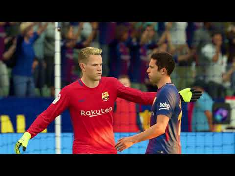 FIFA 18 - Real Madrid vs FC Barcelona Full Match | PS4 Pro (1080p 60fps)