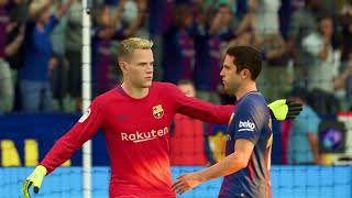 FIFA 18 - Real Madrid vs FC Barcelona Full Match   PS4 Pro (1080p 60fps)