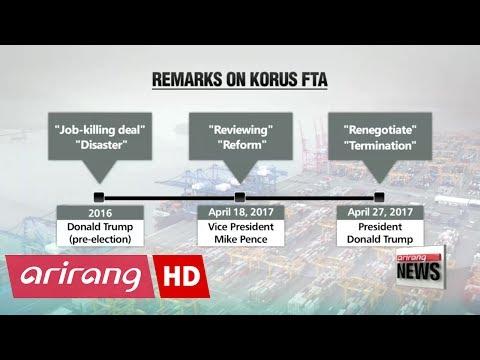 South Korea-U.S. FTA in balance ahead of Moon-Trump summit?