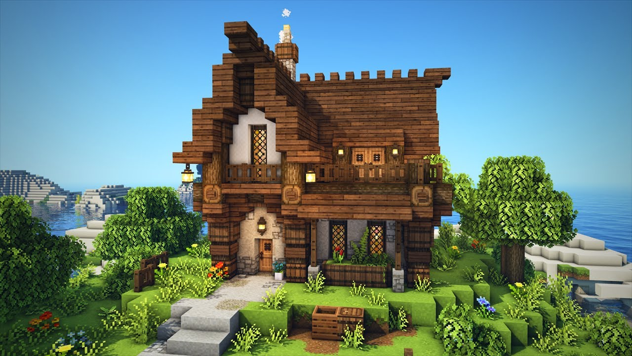 Minecraft   How to Build a Medieval House!   Easy Build Tutorial!