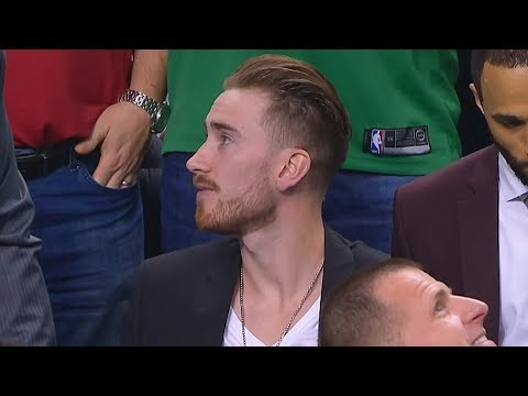 Gordon Hayward Returns from Injury and Watches Celtics Beat Warriors