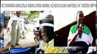 RC MWANRI: Mimi mjanja wa mjini 'born town'/ Mnavaa mayenu/ hii Tabora ni ya kodi