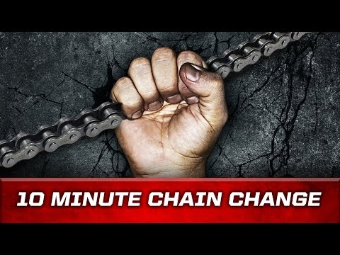 Replace your bike chain in 10 Minutes - LIKE A BOSS!